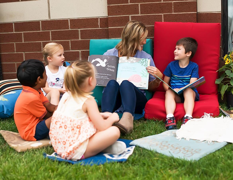 Outdoor Children's Classroom in Woodbury, MN