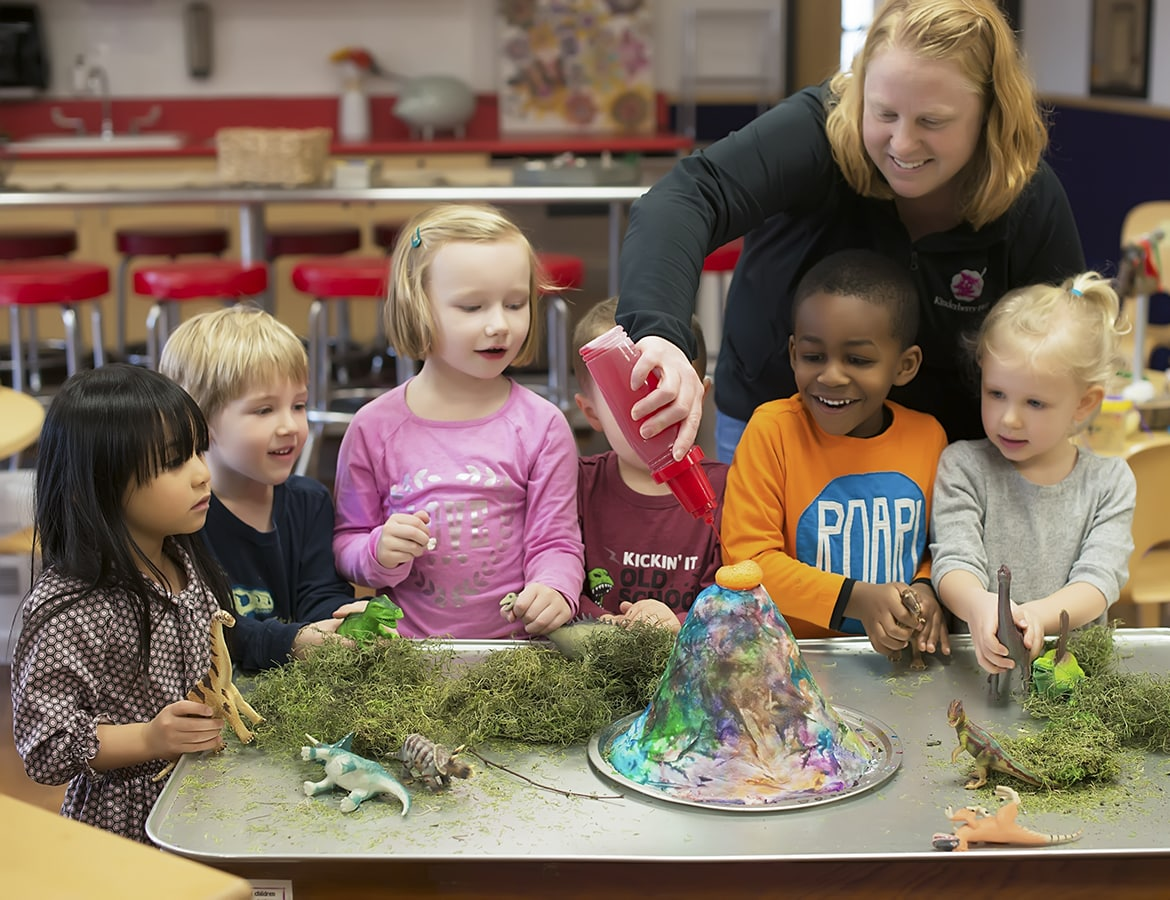 Children at Daycare in Woodbury, MN