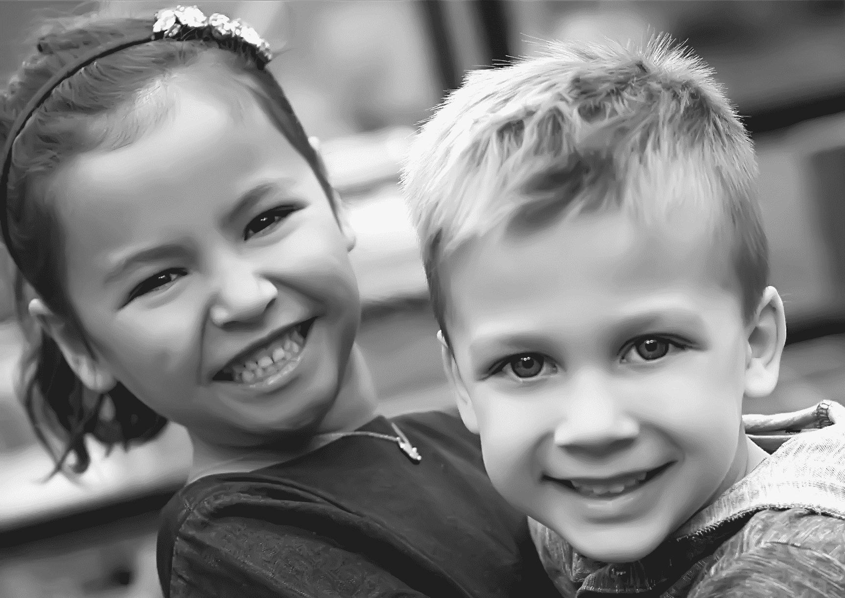 Pre-k preschool children